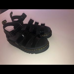 Dr. Martens Shoes - Dr.Martens Black Sandals